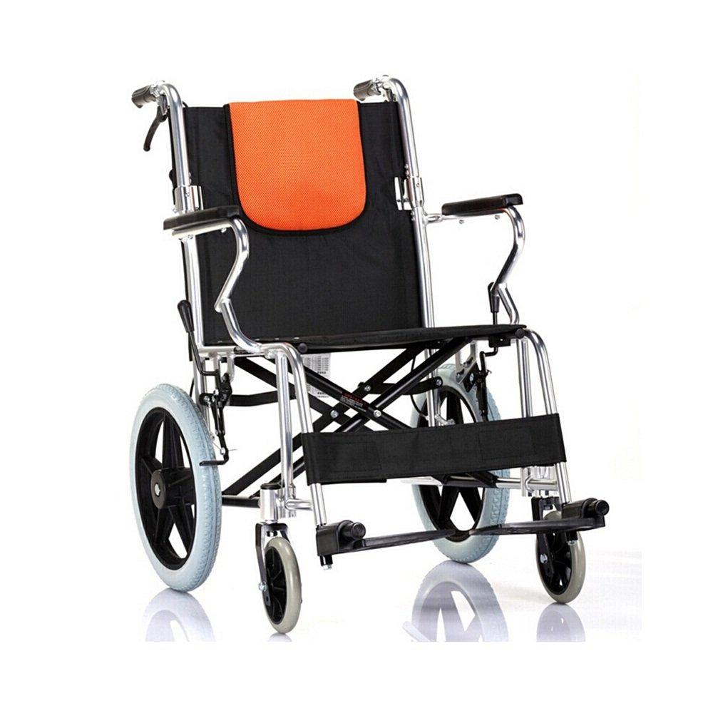 III- Silla de ruedas Reforzada Aleación De Aluminio Plegable ...