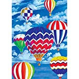 Balloon Fest – Standard Size, Decorative Double Sided, Licensed and Copyrighted Flag – MADE IN USA by Custom Decor Inc. 28 Inch X 40 Inch approx. Review
