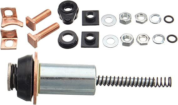 YUSHHO56T Magnetspule Reparatur-Set f/ür Auto-Innenteile Magnetspule f/ür Land Rover Discovery Defender TD5 2.5 Diesel Starter