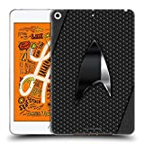Official Star Trek Discovery Negro Badges Soft Gel Case Compatible for iPad Mini (2019)