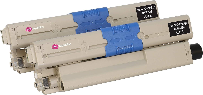 1 CARTUCCIA TONER LASER NERO PER OKI C301 MC332DN mc342w C301DN C321 STAMPANTE