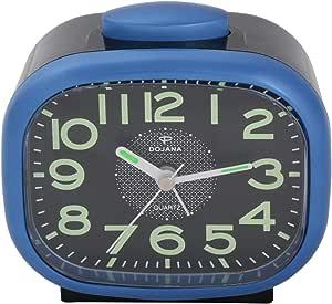 Dojana Alarm Clock, Blue and Black, DAG034