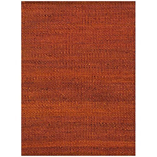 Acura Rugs Natural Jute Collection Area Rug, Hand Woven Gold Jute Rug 5' x 8' Feet / 60