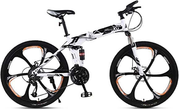 WJSW Bicicleta de montaña Plegable para Exteriores Bicicletas para ...