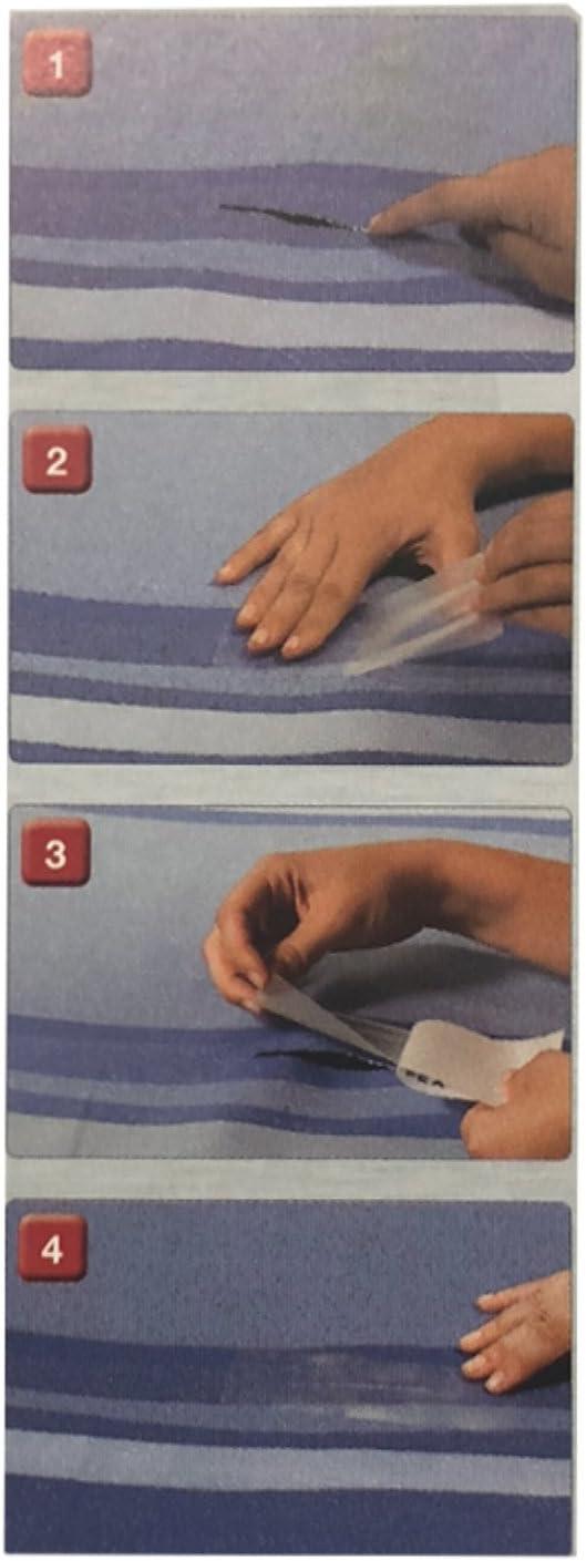 1 Fiamma Kit Repair Plus Reparatur Kit 3er Set f/ür Markisen und Vorzelte 8x15 cm