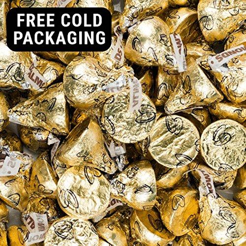 Gold Almond Hershey's Kisses 1lb ()