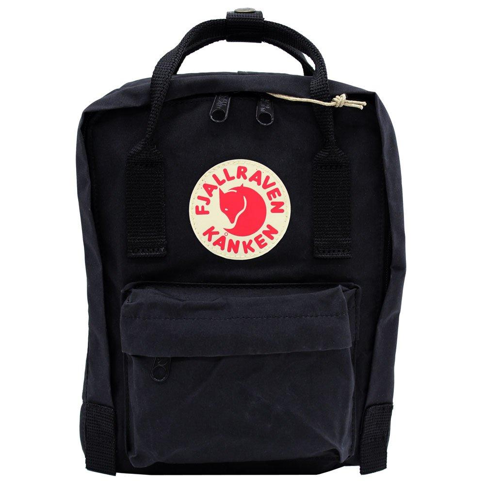 FJALLRAVEN/フェールラーベン カンケンバッグ ミニ FJ 23561 リュックサック/バックパック/デイバッグ/ハンドバッグ/カバン/鞄 レディース/メンズ 7L [並行輸入品] B0175OSFZA  ブラック