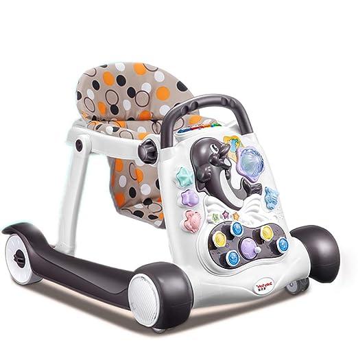 Andador Bebe Andador for bebé Rollover 6/7-18 Meses Empuje Walker ...