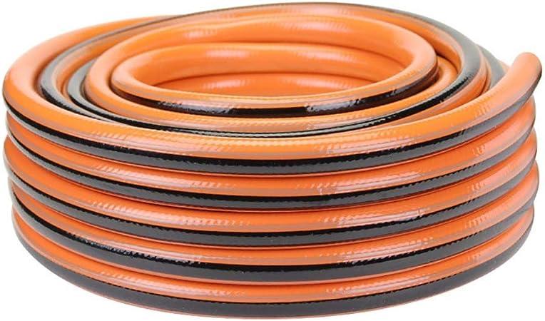 Tubo de manguera de agua de jardín Manguera Flexible, Manguera De Goma, Manguera De Agua, Hogar, Manguera De PVC Anticongelante, Lavado De Automóviles, Plástico, 4 Puntos 1/2 in Para el hogar, jardín,: