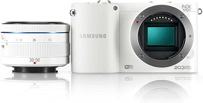 Samsung NX 1000 + 20-50 mm - Cámara Evil Digital (20.3 MP, MILC ...