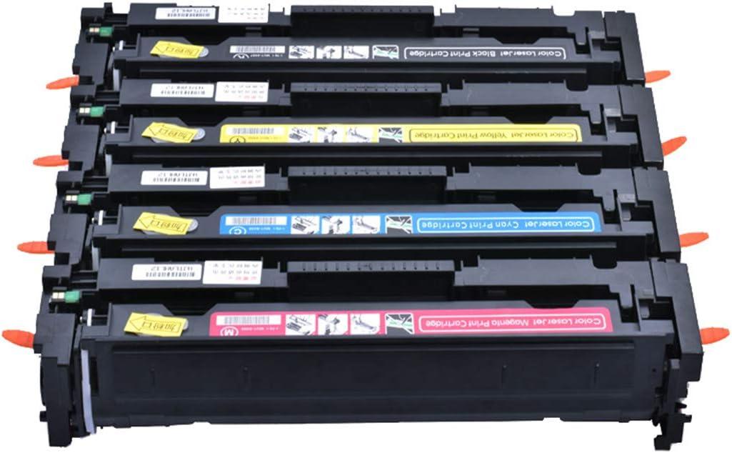 Compatible Toner Cartridges Replacement for HP 410A 410X CF410A CF411A CF412A CF413A Toner Cartridge for HP Color Laserjet PRO M452DN M452NW M452DW M477FDN M477FDW M477FNW Toner,4colors