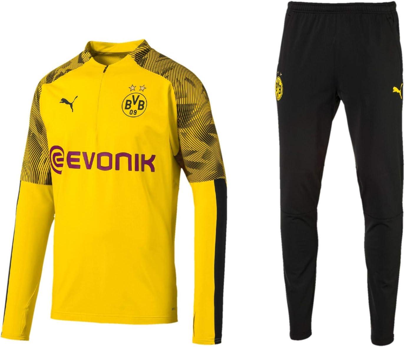 PUMA 2019/20 - Chándal para Hombre, diseño del Borussia Dortmund ...