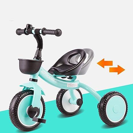 XQ- Triciclo Bicicleta Carrito De Bebé Coche De Juguete 2-3-5 Años