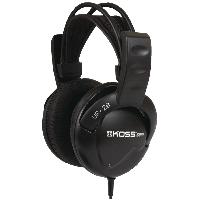 Koss KS164137 - Auriculares de Diadema Cerrados (3.5 mm), Negro