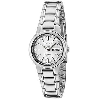 Seiko Women s SYME39K1 Seiko 5 Automatic Light Silver Dial Stainless Steel  Watch 55e181704