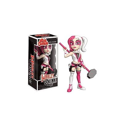 Funko - Figurine DC Comics - Harley Quinn Pink Costume Exclu Rock Candy 15cm - 0889698126861