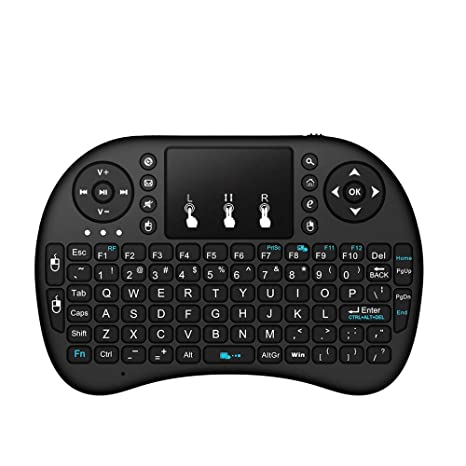 Amazon com : CITW Slim Mini Gaming Keyboard with 2 4G