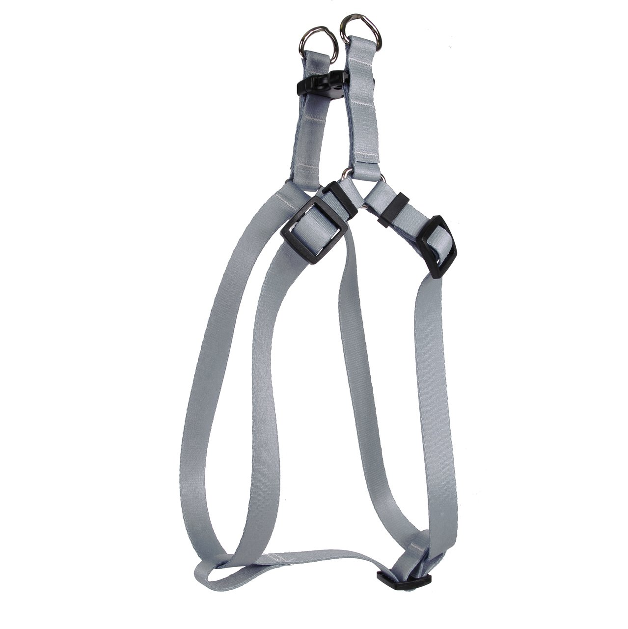 Yellow Dog Design Gray Simple Solid Step-in Dog Harness, X-Small