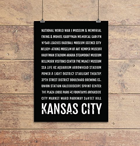 - Kansas City Print, Kansas City Subway Sign Poster, KC Wall Art, Décor, Canvas, Gift, Bus Scroll, Typography, Minimal, Custom, Personalized