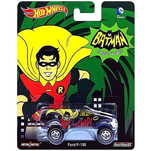 Hot Wheels Robin Batman Classic TV Series Ford F-150 Diecast Car 1:64 Scale