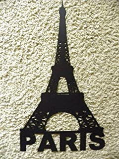 Bon Eiffel Tower With Paris Word Metal Wall Art Home Decor
