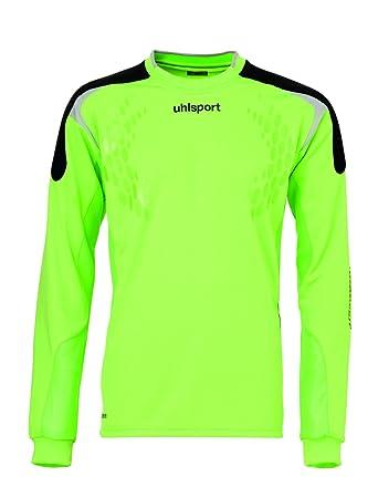 Uhlsport Torwarttech Gk-Shirt - Camiseta de portero de fútbol, para hombre verde verde claro Talla:XXL: Amazon.es: Deportes y aire libre