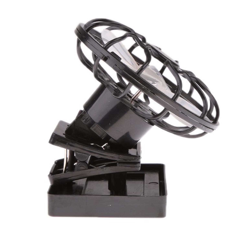 Portable Mini Solar Sun Powered Clip Fan Cooling Fan Outdoor Hat Clip-on Fan & Cooling Fan Energy Saving (MFAN003) by Mruiks (Image #6)