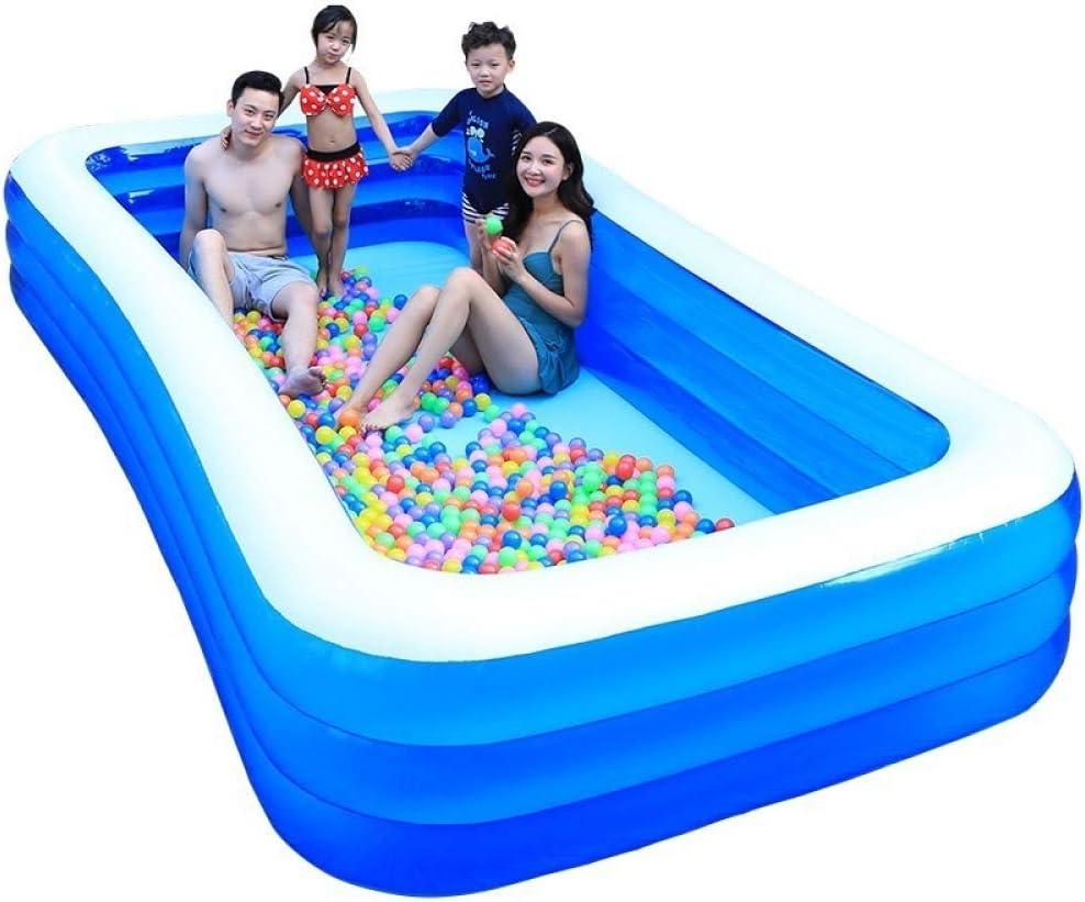 YIRUN Piscina Hinchable Grande Piscina Familiar Rectangular Juego Verano Juguete Adulto bañera para niños: Amazon.es: Hogar