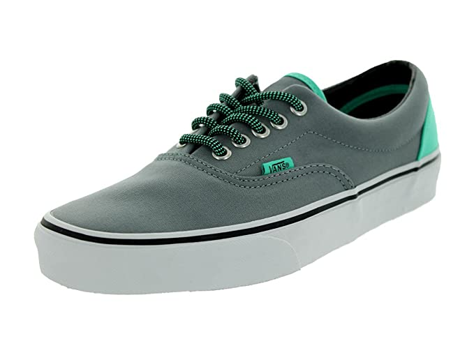 6c24b0955bf6 Buy Vans Men s (Heei Pop) Monument Grey Electric Green US Size 11.5 Online  at Low Prices in India - Amazon.in