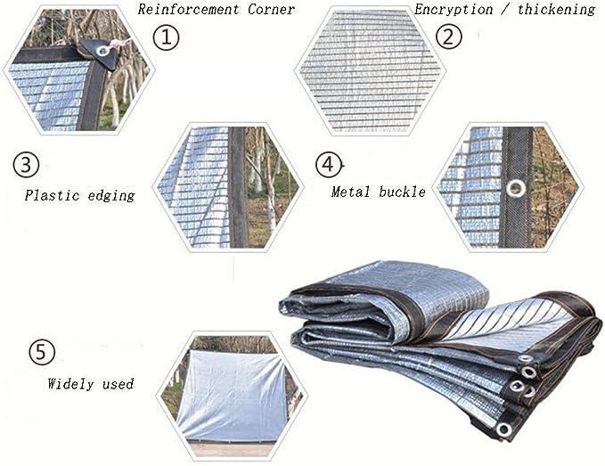 Tarpaulint Sombra Paño Sombra Neta Reflejo Exterior Protector ...