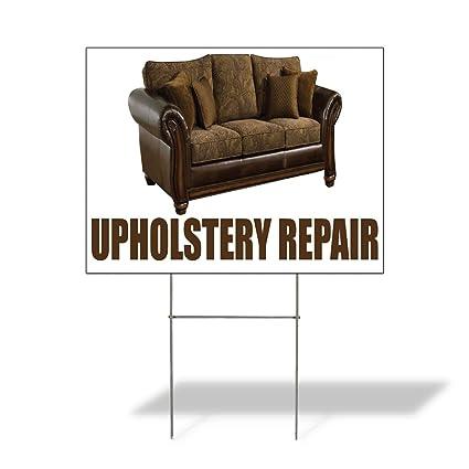 Amazon Com Plastic Weatherproof Yard Sign Sofa Upholstery