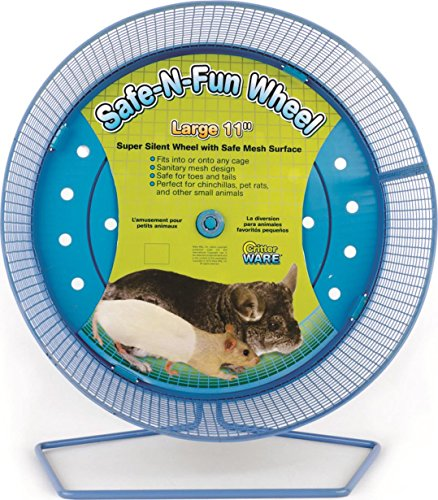 SAFE-N-FUN WHEEL FOR SMALL ANIMALS - LARGE/11 IN by DavesPestDefense