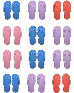 hysagtek 12 pares, espuma, Chanclas, sandalias de playa de arena para ducha (