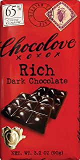 product image for Chocolove Chocolate Bar, 65% Rich Dark, 3.2 Ounce (Pack of 12)