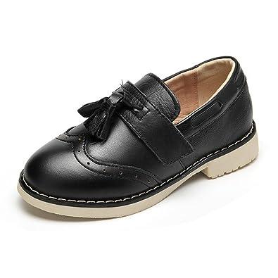 Amazon.com: F-OXMY - Zapatos para niños con borla de punta ...