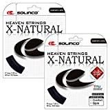 #6: Solinco - X-Natural Tennis String Black - (SOLXNAT:SET)