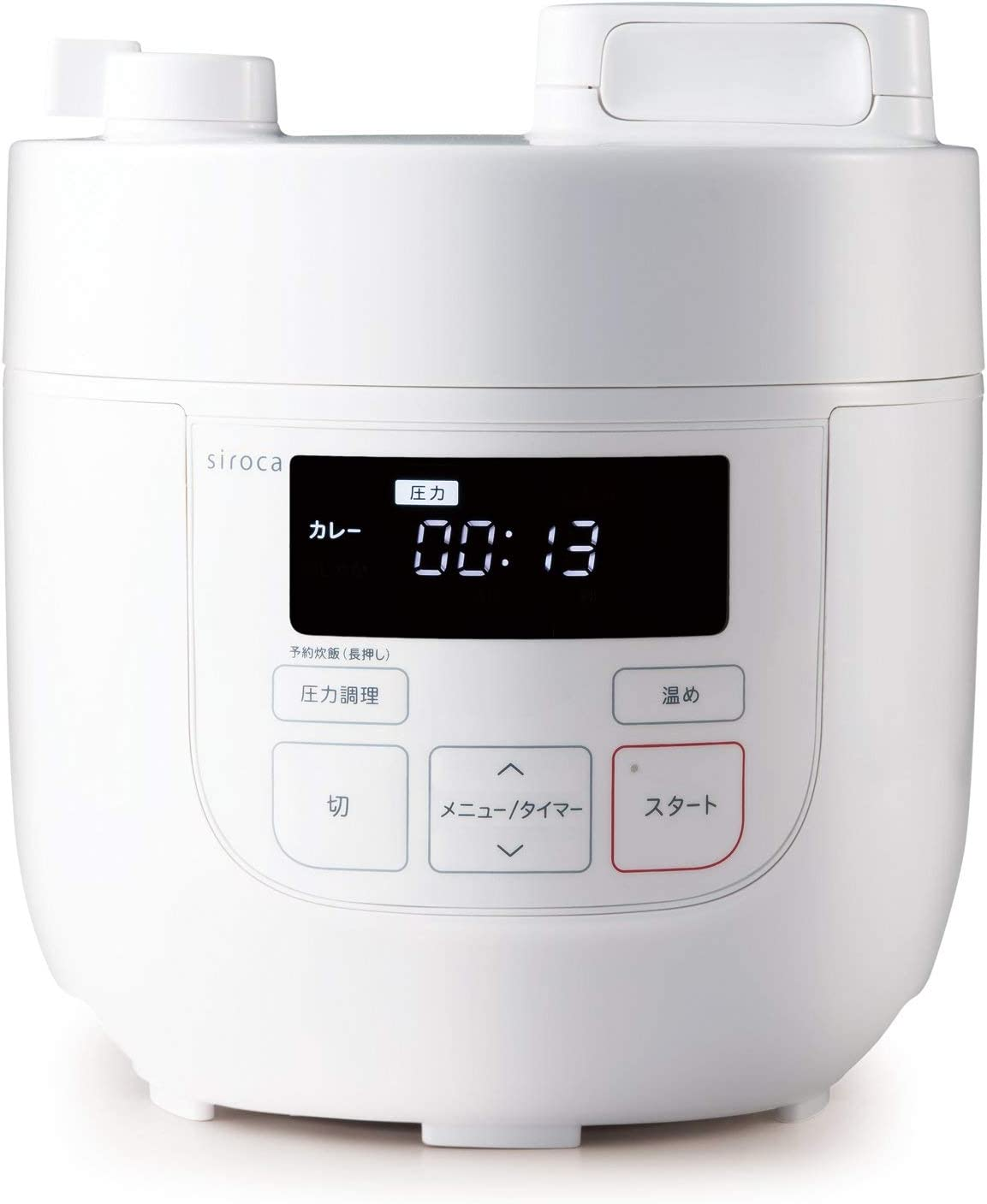 siroca Electric Pressure Cooker SP-D121(W) (WHITE)?Japan Domestic genuine products?
