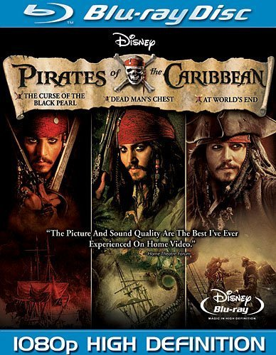 Pirates of the Caribbean Trilogy [Blu-ray] by Walt Disney Video