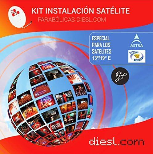 DIESL.COM - Kit Hotbird 13º y Astra 19º   Canales Libres en ...