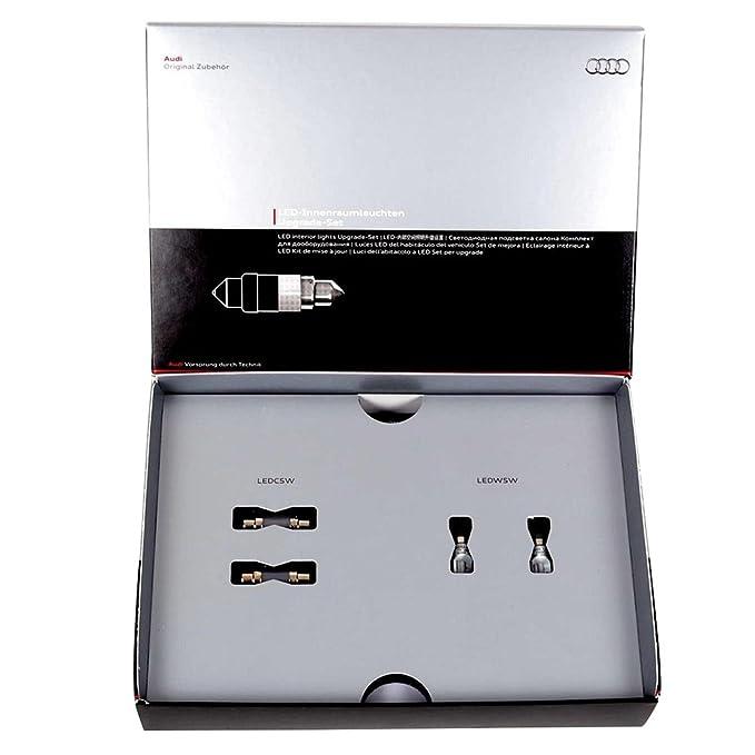 Audi 8K0052122 - Kit de actualización para luces LED interiores para A3/A4/A5/Q5: Amazon.es: Coche y moto