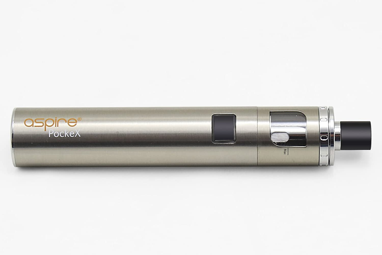 Aspire Pockex Starter Kit, Pocket AIO All in One (Stainless Steel) - No  Nicotine