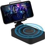 Bluetooth Speaker - Wireless Bluetooth Speaker with Phone Stand, HD Surround Sound Bluetooth Speaker with Adjustable Phone Ho