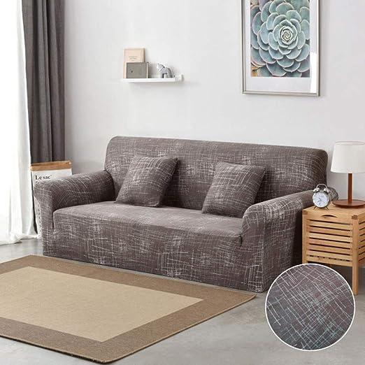 stqjh Funda de sofá Algodón Estampado Floral Sofá Toalla Funda de sofá Fundas para Sala de Estar Funda de sofá Funda Sofá Proteger Muebles,Color 2,1-Seat 90-140cm: Amazon.es: Hogar