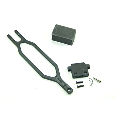 Traxxas Slash 2wd Battery Hold Down Strap Clip & Bracket 5827 2553: Toys & Games
