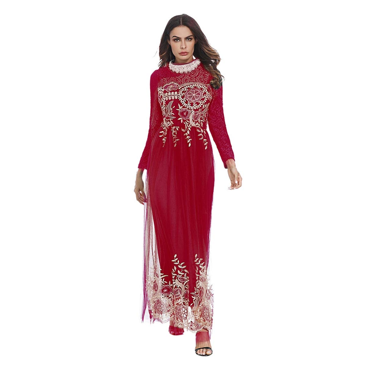 7556ed8b8cb Amazon.com  2019 Hot! Women Muslim Dress