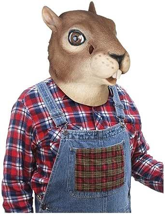 Latex Squirrel Adult Costume Mask