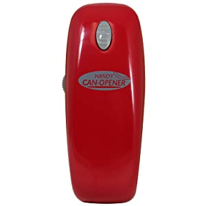 Handy Can Opener : Automatic One Touch Electric Can Opener