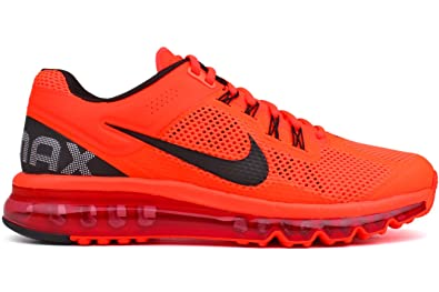 mens nike air max+ 2013 running shoes orange