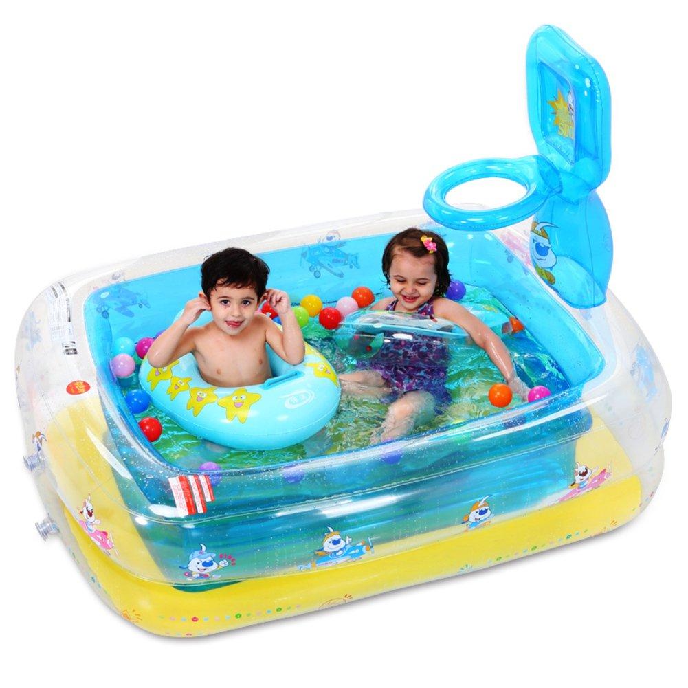 Wellenbad/Basketball Pool/Baby Schwimmbad aufblasbares Bett/Kinderplanschbecken
