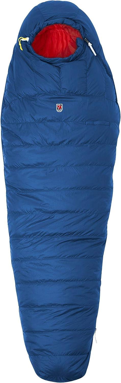 Adulte F62722 Mixte Bleu Baie Normal Bagage Uniquement Fjallraven Sarek Sac de Couchage 2 Saisons